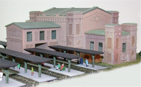 The N Scale Architect 10900 N Union City Station Kit - 10-1/2 x 7 26.2 x 17.5cm