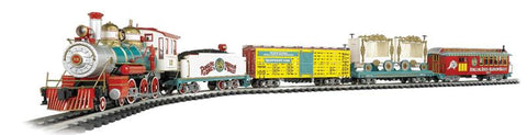 Bachmann 90083 G Ringling Brother, Barnum & Bailey Circus Train Set