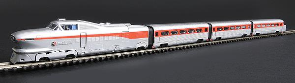 "Con-Cor 8765 N Santa Fe AeroTrain Coach Set ""The San Diegan"" 1956 (3)"