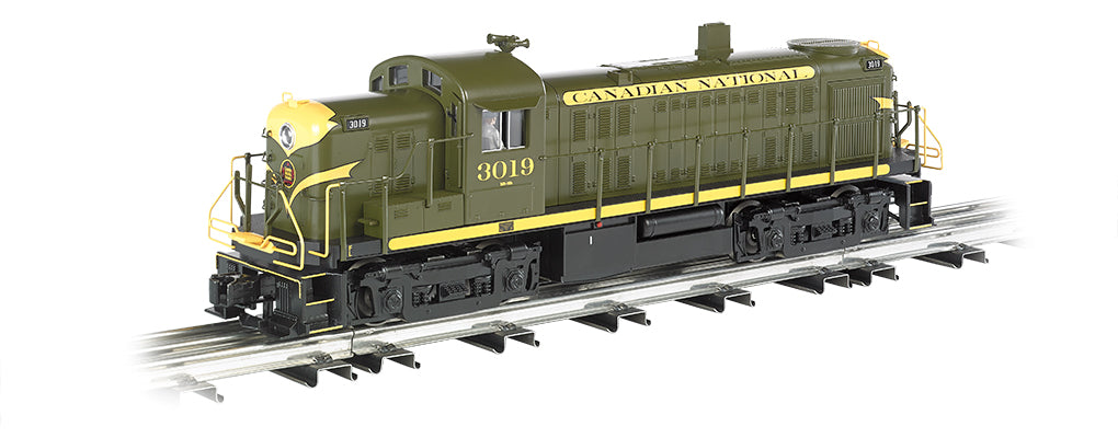 Williams 23003 O Canadian National ALCO RS3 3-Rail Diesel Locomotive #3019