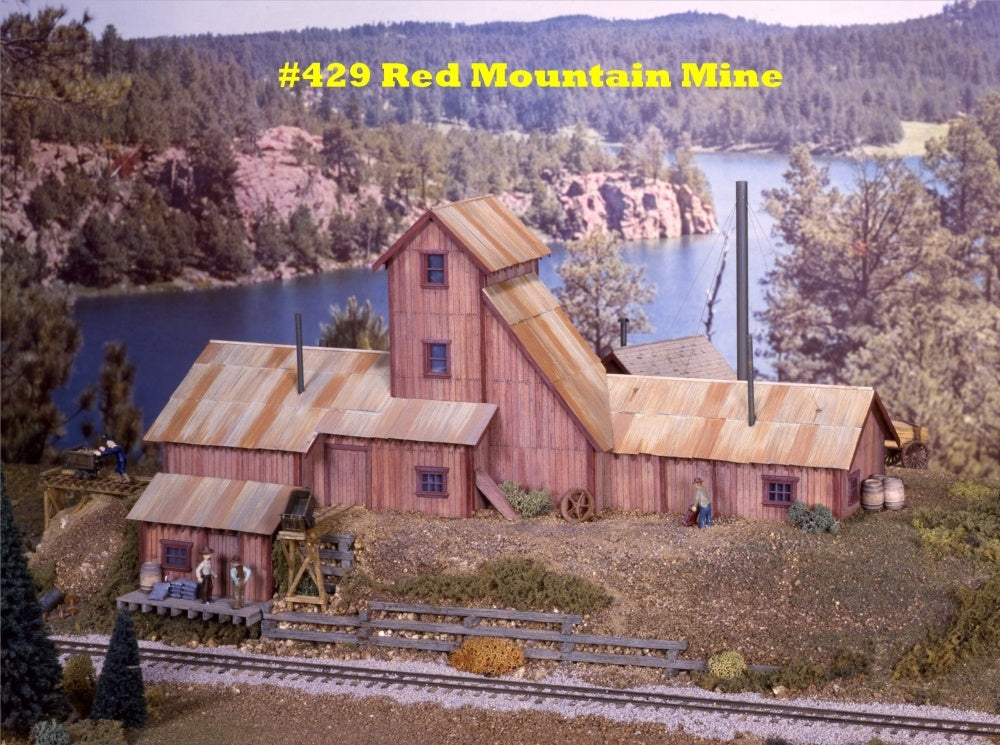 Campbell Scale Models 429 HO Red Mountain Mine