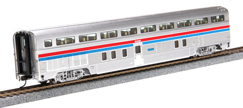Walthers 920-14312 HO Amtrak 85' Budd Hi-Level 72-Seat Coach Lighted
