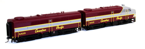 MTH 80-2206-1 HO Canadian Pacific FA-1 A/B Diesel Locomotives #4015/#4410