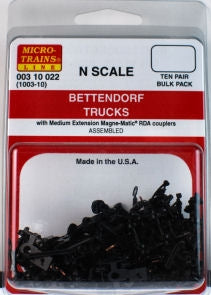 MicroTrains 310022 N Bettendorf Trucks