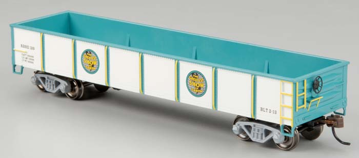 Bachmann 16603 HO Ringling Bros. and Barnum & Bailey 40' Gondola #120