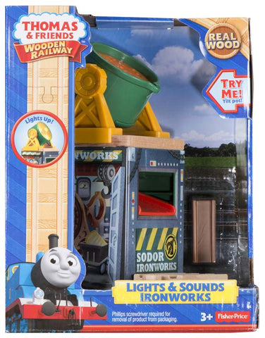 Fisher Price BDG54 Thomas & Friends™ Wooden Railway Lights and Sounds Ironworks