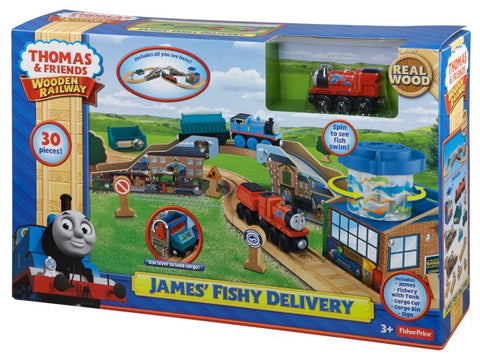 Fisher Price BDG57 Thomas & Friends™ Wooden Railway James' Fishy Delivery