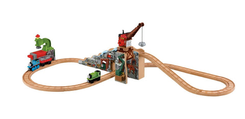 Fisher Price BDG58 Thomas & Friends™ Wooden Railway Merrick & Rock Crusher Set
