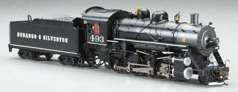 Bachmann 51313 HO Durango and Silverton Baldwin 2-8-0 Steam Loco w/DCC #943