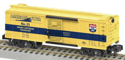 American Flyer 6-48839 S Scale Smoke Cartridge Boxcar
