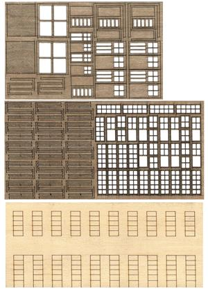 "Bar Mills 33 S Laser-Cut Modular Structure Kit ""The 1-Kit"""