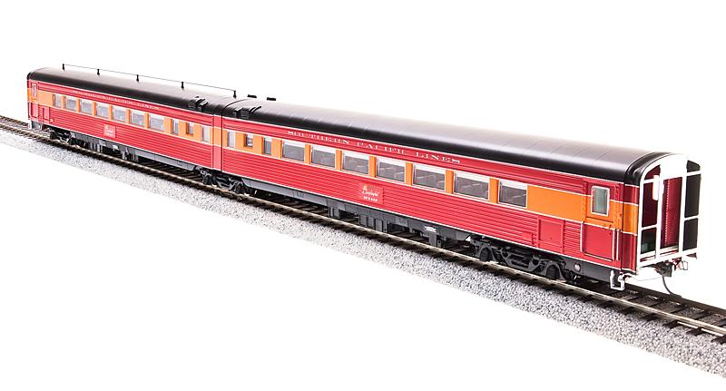 Precision Craft Models 681 HO Southern Pacific Morning Daylight Articulated Coach w/Antenna