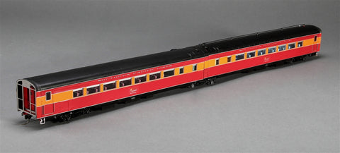 Precision Craft Models 699 HO Southern Pacific Morning Daylight Articulated Coach  #2467, 2468