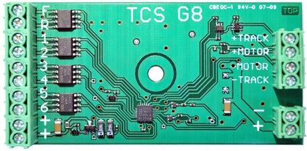 Train Control Systems 1303 G G8 8-Function Decoder
