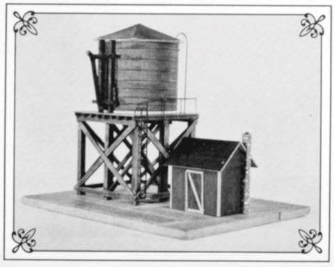 Suncoast Models 3010 HO Water Tower Pump House