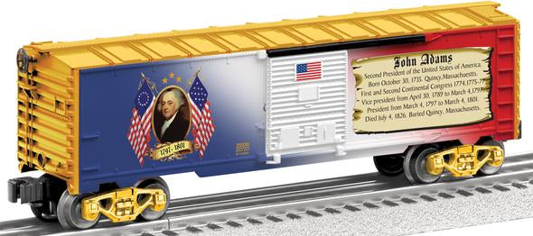Lionel 6-25930 O USA/John Adams Presidents Boxcar