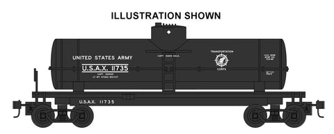 Bachmann 17815 HO United States Army 40' Single-Dome Tank Car