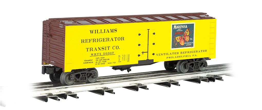 Williams 47466 O 40' Reefer Mariposa Apples