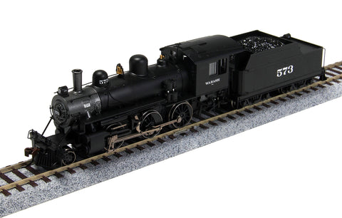 Bachmann 51812 HO Wabash Alco 2-6-0 Steam Locomotive w/Sound & DCC #573