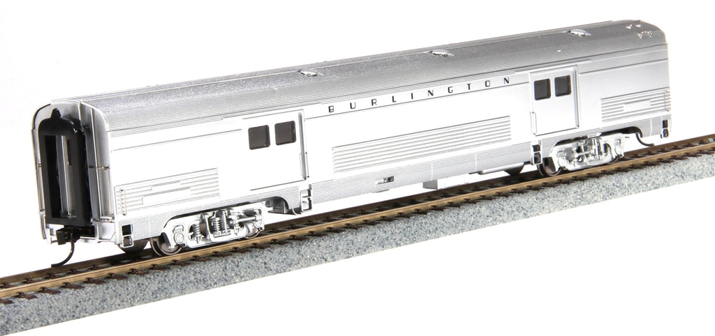Walthers 920-13044 HO Chicago, Burlington & Quincy 73' Budd Baggage Car - Ready to Run