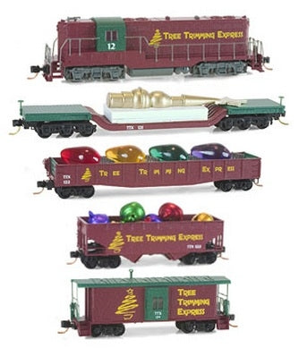 MicroTrains 99321180 Tree Trim Express Set