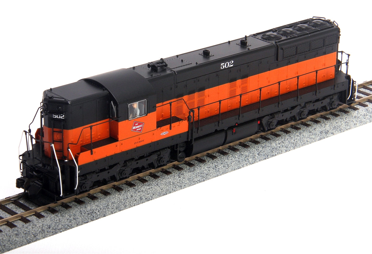 Broadway Limited 2397 HO Milwaukee Road EMD SD7 Paragon2™ #502
