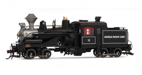 Rivarossi HR2412 HO Georgia Pacific 2-Truck Heisler Steam Locomotive #12