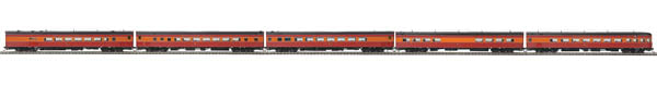 MTH 80-69041 5-Car Pass Set 3-Rl SP