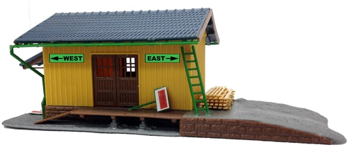 Model Power 202 HO Small Freight Station