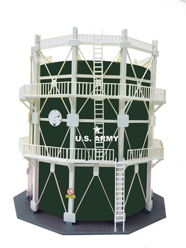 Model Power 205 HO US Army Large Oil Storage Tank