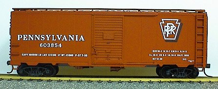 Accurail 3503 40' AAR sd stl box PRR