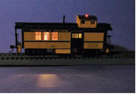 Miniatronics 100-YCB-01 Yeloglo Caboose Car Lighting Kit