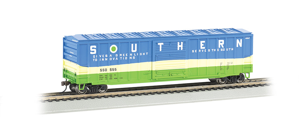 Bachmann 19607 HO Southern 50'6 Outside-Braced Sliding-Door Boxcar #550555