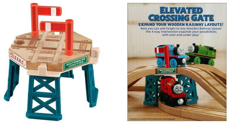 Fisher Price BDG64 Thomas & Friends™ Wooden Railway Elevated Crossing Gate