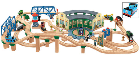 Fisher Price Y4474 Thomas & Friends™ Series Tidmouth Sheds Deluxe Set