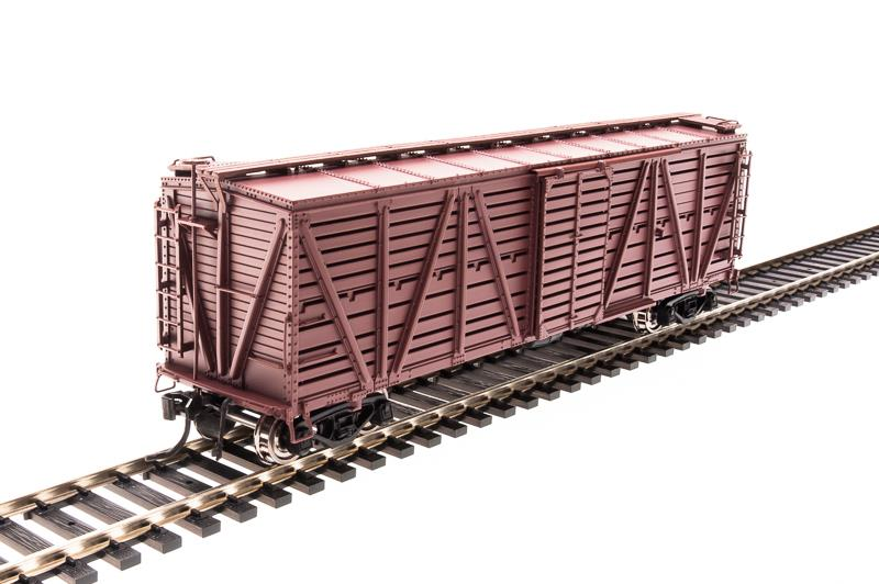 Broadway Limited 2538 HO Painted, Unlettered PRR K7 Stock Car No Sound