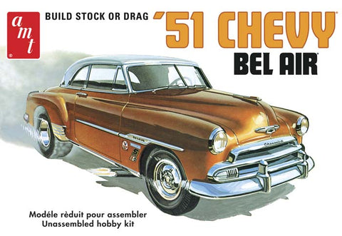 AMT 862 1:25 1951 Chevy Bel Air Plastic Model Kit