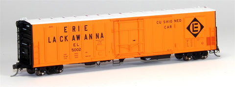 Red Caboose 34805 HO Scale Erie Lackawanna 57' Mechanical Reefer