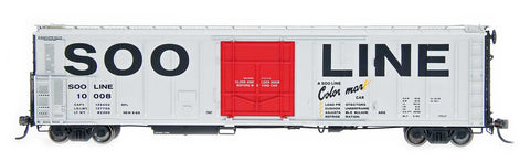 Red Caboose 34807 57' Mech Reefer SOO