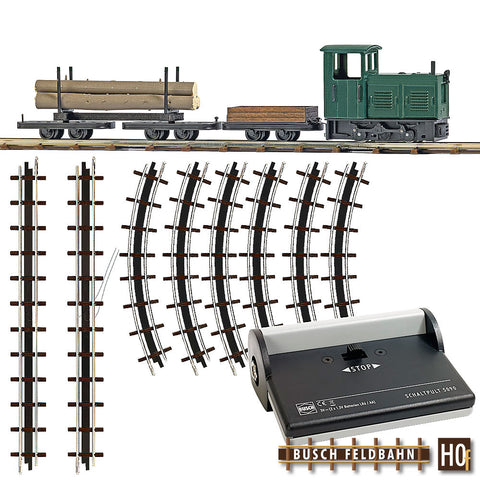 Busch 12003 Start-Set Lumber Train