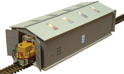 Railtown Model Railroad Supply 3912 N Locomotive Maintenance Shed