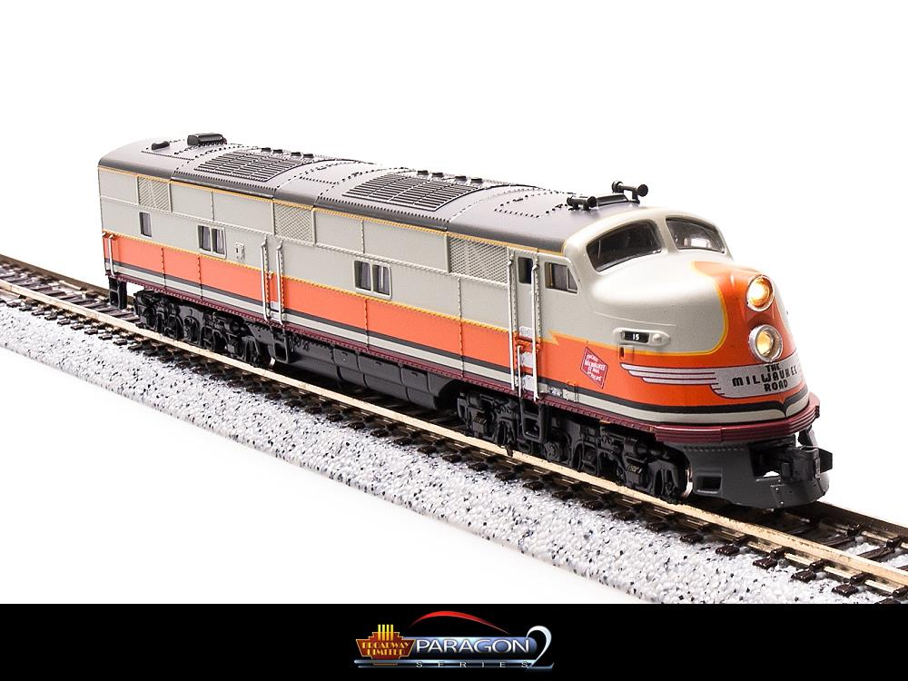 Broadway Limited 3021 N Milwaukee Road EMD E6A Paragon2™ #15B