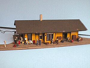 Alpine Division Scale Models 700-5021 1887 Psgr depot - orange