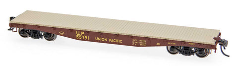 "Red Caboose 32314 HO Union Pacific  42'10"" Fishbelly Side Sill Flatcar"
