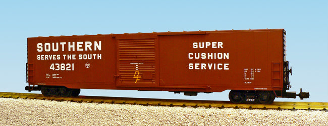 USA Trains R19420A G Southern 60' Steel Single-Door Boxcar w/Cushioned Coupler