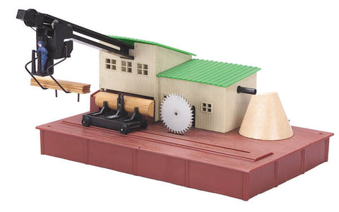 MTH 35-90001 American Flyer #23796 Operating Saw Mill