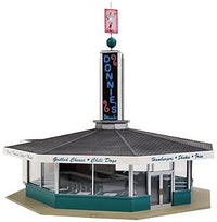 Walthers 933-3474 HO Donnie's Drive-In Building Kit