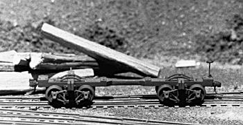 Keystone 107 HO Climax Log Car
