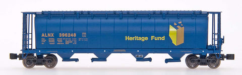 InterMountain 85103 59' 4-Bay Cylindrical Covered Hopper - Trough Hatch Version - Ready to Run