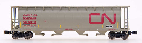 InterMountain 85107 59' 4-Bay Cylindrical Covered Hopper - Trough Hatch Version - Ready to Run